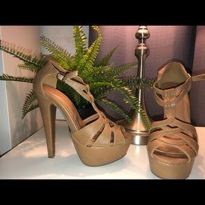Women's size 6 strappy heels
